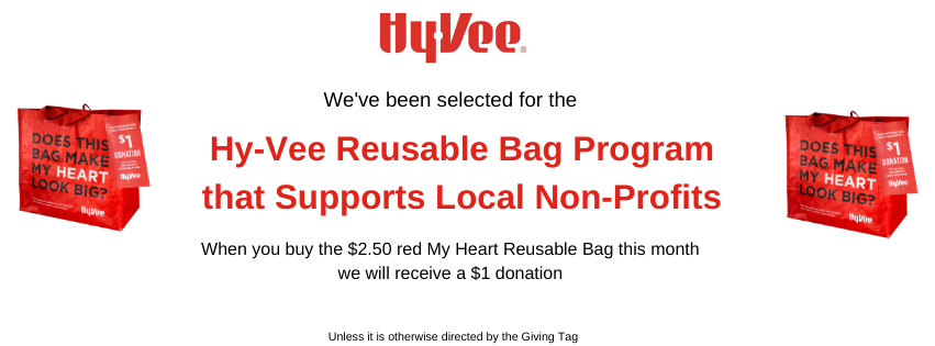 HyVee Reusable Bag Program Supports KML in March 2020